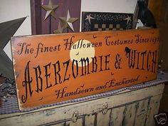 Halloween decor - cute sign - 365daysofhalloween.tumblr.com