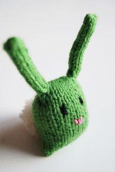Bunny nugget by Yarn-Madness, via Flickr