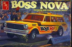 "AMT - ""Boss Nova"" model kit"