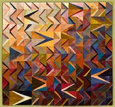 Janet Steadman, Fiber Artist and Quiltmaker from Clinton, WA: information about the artist and several galleries featuring her art quilts. Patchwork Quilting, Quilting Projects, Quilting Designs, Quilt Design, Contemporary Quilts, Quilt Modern, Modern Quilting, Textiles, Flying Geese Quilt