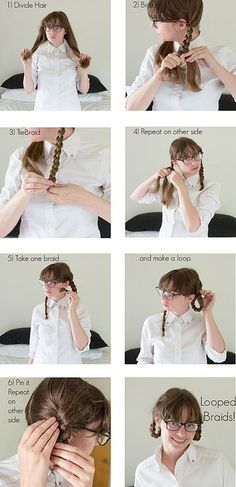 Looped Braids Instructions from www.withoutastyle.com