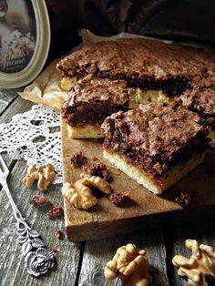 Illéskrisz Konyhája: DIÓS - CSOKIHABOS PITE Cake Cookies, Tiramisu, Breakfast Recipes, Food And Drink, Sweets, Baking, Ethnic Recipes, Dios, Gummi Candy