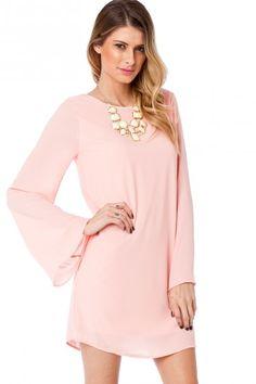 Maura Shift Dress in Peach Taffy .... want!!!