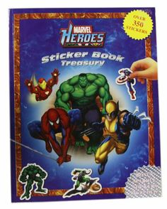 Marvel Heroes Sticker Book Treasury (Marvel Heroes)   Your #1 Source for Toys and Games