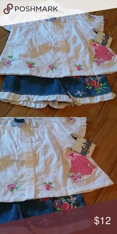 Disney princess short set Disney princess short set brand new with tag size 3t Other