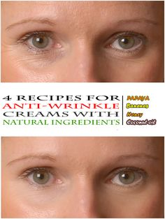 Recipes for an anti-wrinkle cream