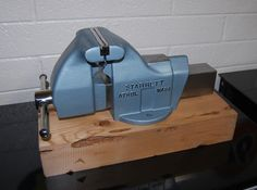 This Is A Starrett 015, Newer Model Starrett Vise. 5 1/2 Inch Jaws.