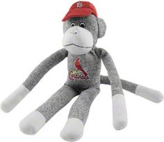 I love sock monkeys anyway, but a STL Cards monkey is even better!