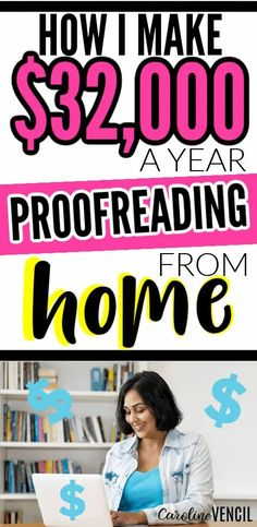 Do you want to start a side hustle and earn a full-time income quickly? Here is how I make $32,000 a year proofreading in my spare time. #sidehustles #sidehustlesformoms #howtobecomeaproofreader #howtostartproofreading #proofreadingtipsandtricks #sidehustlesthatwork #sidehustleideas Make Money Fast, Make Money From Home, Make Money Online, Survey Websites, Best Online Jobs, Proofreader, Work From Home Tips, Part Time Jobs, Melting Pot