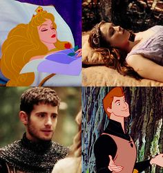 From the Disney movie & Once Upon A Time: Sleeping Beauty and Prince Phillip