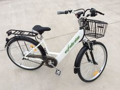 Superb Alloy Framed 36v Electric City Bike - Leisure - available from Gifts and Skills - www.giftsandskills.co.uk