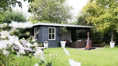 Houten terrasoverkapping, Papendrecht - Bronkhorst Buitenleven