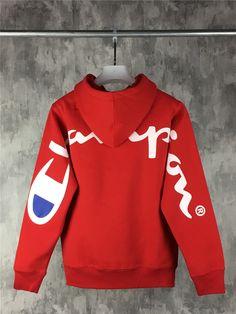 1817557ef1a6 Sup 18SS Champio Hoodie Sweatshirt