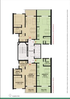 Residential Building Plan, Residential Complex, Interior Architecture Drawing, Architecture Plan, Apartment Layout, Apartment Design, Architectural Floor Plans, Apartment Floor Plans, Unit Plan