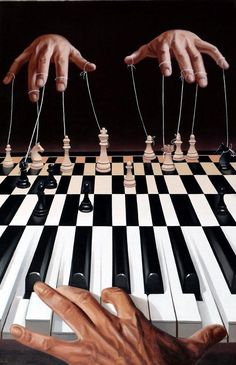 All the world is a stage by Mihai Christe  from: http://www.cuded.com/2012/01/surreal-paintings-by-mihai-criste/