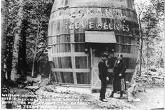 The Giant Pickle Barrel, Grand Marais, Michigan Grand Marais Michigan, Giant Pickle, Upper Peninsula, History, Building, Travel, Beautiful, Houses, Random