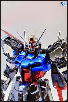 PG 1/60 Aile Strike Gundam [Extra Coat Finish Ver.] Modeled by Strike Gundam Holic