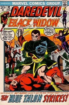 Daredevil #92 - On the Eve of the Talon!