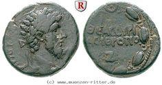 RITTER Kyrrhestika, Hieropolis Bambyke, Lucius Verus, Kranz #coins