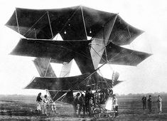Dorand 1908 - Early-flying-machines-25