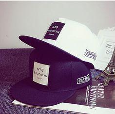 Unisex Men Women Bboy Hip Hop Cap Adjustable Baseball Snapback Flat Visor Hat
