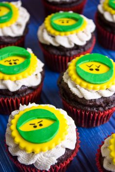 Ninja Cupcakes from Lexie's Kitchen | #glutenfree #dairyfree #eggfree
