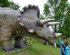 De Groene Poort es un museo en Boxtel Holanda donde los niños halucinarán con los dinosaurios.
