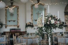 Quaker Ceremony with Two Brides & Kings Weston House Reception Blush Pink Wedding Dress, Custom Wedding Dress, Elegant Wedding Dress, Wedding Flower Arrangements, Wedding Bouquets, Floral Arrangements, Flower Crown Wedding, Wedding Flowers, Two Brides