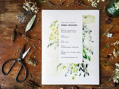 KINFOLK - Kinfolk Magazine Herbal Infusions Workshop Itinerary