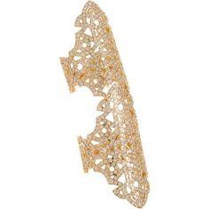 52e670d56c2a Repossi - Rose Gold   Diamond Twin Ring discovered on Fantasy Shopper