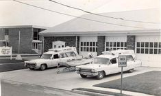 Cadillac ambulances