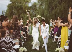 Ashley & Sam LGBTQ Wedding || @handhweddings