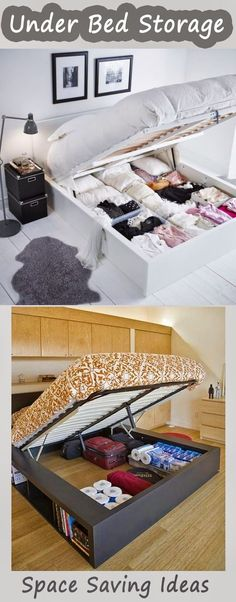 11 Creative and Clever Space Saving Ideas - 11 Creative and Clever Space Saving Ideas 6 - Diy
