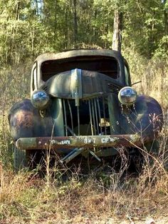 Abandoned Cars and Trucks. old ford truck. Source Facebook.com