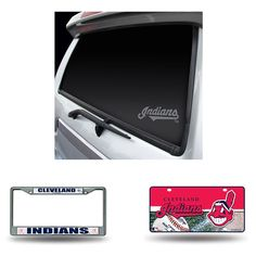 Cleveland Indians MLB 3 Piece Auto Detail Pack