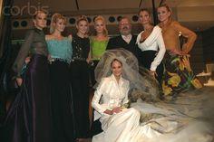 Christian Dior - Fall Winter 1996 1997 - Pret a Porter Collection - Claudia Schiffer - Carla Bruni - Karen Mulder - Eva Herzigova - Maria Ines Rivero