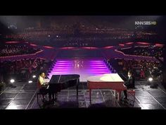 Tae Yang & Xiah Junsu - Piano Battle Live 2008.12.29 HD - YouTube
