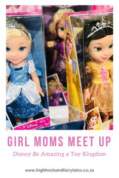 Girl Moms Meet Up [part 1] - Disney Be Amazing x Toy Kingdom - http://highheelsandfairytales.co.za/girl-moms-meet-up-disney-toy-kingdom/ #girlmomsmeetup #toykingdom #beamazing #disney #disneyprincess #momblogger