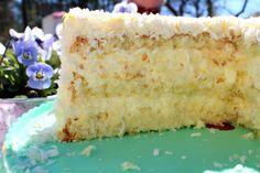 Fika, Dessert Recipes, Desserts, Vanilla Cake, Tart, Vegetarian Recipes, Food And Drink, Sweet, Birthday Cakes