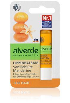 alverde Lippenbalsam Vanilleblüte Mandarine
