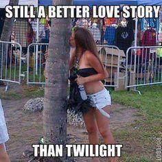 bahahahha tree girl <3 #umf #2012