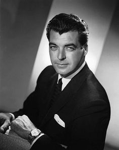 Janice Cassell, this is the actor that when I saw your dad I thought that this was him Rory Calhoun .