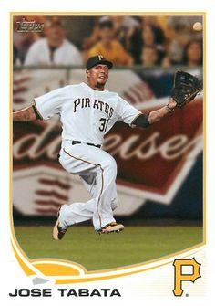 José Tabata Pittsburgh Pirates