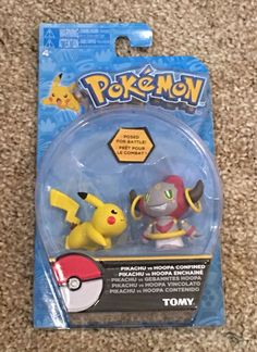 Tomy Pokemon Pikachu And Hoopa 2-pack Action Figure Set + FREE Standard Shipping    eBay