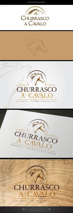 Revitalização de Marca para loja Churrasco a Cavalo. Criação de Sketch seguido de arte final   Revitalization of Brand Store for Horse Barbecue. Creating Sketch followed by artwork  #art #design #logo #brand #marca #conceito #artevisual   www.mauriciomarques.cc