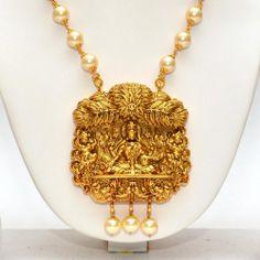 Online Shopping for Anvi's lakshmi (temple jewellery) p | Necklaces | Unique Indian Products by Anvi Collections - MANVI85898764380
