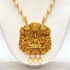 Online Shopping for Anvi's lakshmi (temple jewellery) p | Necklaces | Unique Indian Products by Anvi Collections - MANVI85898764380
