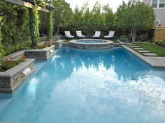 And the pool area