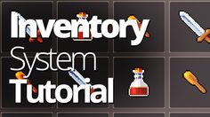 Inventory System in Unity Tutorial (Part 1) - Unity3D C# Tutorial