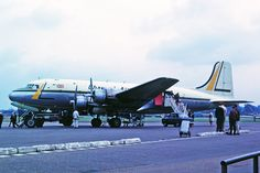 G-ARYY 1 Douglas DC-4-1009 Channel Airways SEN 03SEP63